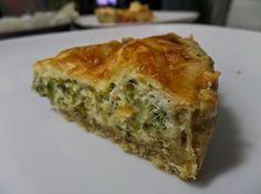 Paleo életmód: Paleo brokkolis pite