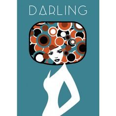 Darling Poster | ​Custom design for Charlotte and Josh