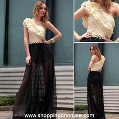 Long Evening Gown -One Shoulder Ruched $196.99 (was $228) Click here to see more details http://shoppingononline.com/custom-made-dresses/long-evening-gown-one-shoulder-ruched.html #LongEveningGown #OneShoulderEveningGown #LongDress #CustomMadeDress