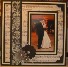 The First Dance, Page 1 by DRStamper - Cards and Paper Crafts at Splitcoaststampers