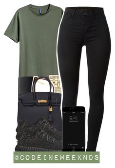 11/21/15 by codeineweeknds on Polyvore featuring polyvore, fashion, style, J Brand, adidas Originals, Hermès, MICHAEL Michael Kors, Linda Farrow and NARS Cosmetics