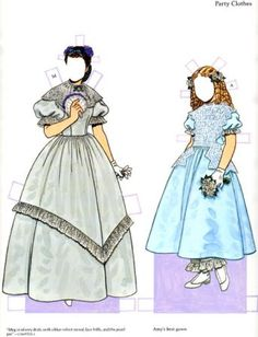 Little women 2 - Bobe Green - Picasa Webalbum* 1500 free paper dolls at Arielle Gabriels The International Paper Doll Society and also free Asian paper dolls at The China Adventures of Arielle Gabriel *