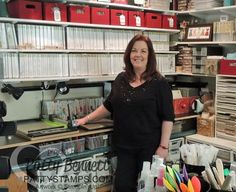 Craft Room Tour and Stampin' UP! product Organization tips from Patty Bennett #pattystamps #craftroom #organization