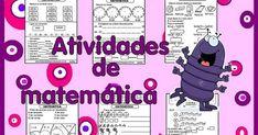 MATEMÁTICA ENSINO FUNDAMENTAL I: VÁRIAS ATIVIDADES PARA IMPRIMIR Monopoly, Math Activities, Initials, Teaching, Colouring In