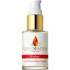 Goldfaden Unline - Line Diminishing Complex by Goldfaden. $89.95. This serum provides an alternative to a surgical treatment by reducing lines and wrinkles.. This product meets our natural beauty standards with a high concentration of quality natural botanicals while keeping harsh chemicals to a minimum.                        Dr. Goldfaden's medical-grade serum provides the benefit of surgical treatment in a unique sub-surface complex. 100% pure Hyaluronic Acid a...