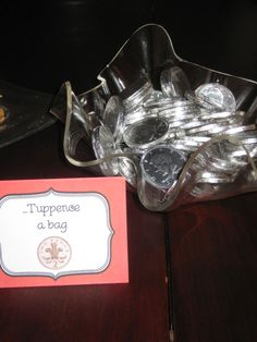 Tuppense a Bag- Mary Poppins Birthday Party Food | A Disney Mom's Thoughts