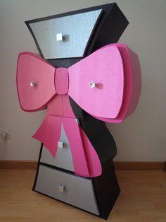 Cardboard dresser...love this