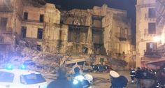 Palermo: Crolla palazzina a Piazza Garraffello