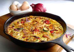 Speedy Syn-Free Frittata | Slimming World Recipes