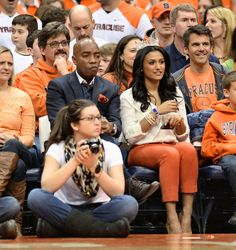 miss america at carrier dome | Syracuse Orange Basketball 2013-14: Syracuse vs. N.C. State | syracuse ...