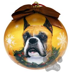 Boxer Cropped Shatterproof Dog Christmas Ornament http://doggystylegifts.com/products/boxer-cropped-shatterproof-dog-christmas-ornament