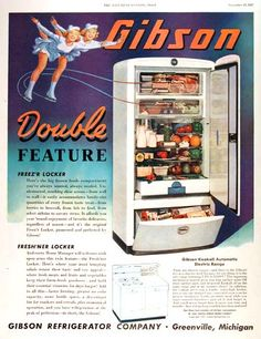 1947 Gibson Refrigerator - just bought this! Trying to think of a name for her.