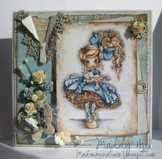 Beautifully detailed shabby chic card!