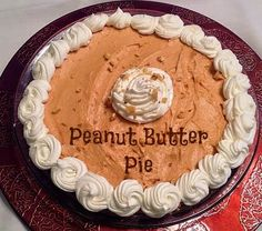 Sisters' Sweet and Tasty Temptations: Peanut Butter Pie