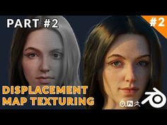 (1) Blender Skin Texturing And Hair Grooming - Displacement Map Texturing [Part 02] - YouTube
