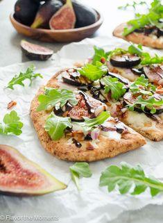 Fig Recipes, Pizza Recipes, Grilling Recipes, Summer Recipes, Healthy Recipes, Pork Recipes, Dinner Recipes, Grilling Ideas, Eat Healthy