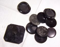 Excited to share the latest addition to my #etsy shop: Vintage Buttons, Black Buttons, Mixed Lot Buttons, Fasteners, Sewing Buttons, Plastic Button, Navy Symbol Button http://etsy.me/2CkmsQk #supplies #black #dollmaking #plastic #mixedlotbuttons #originalbuttons #steam