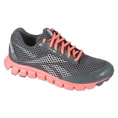 dc5b12d6ed7d Reebok Women s SmoothFlex Running Athletic Shoe in Grey Pink Reebok