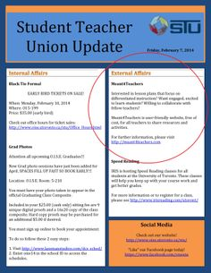 Our first media coverage by the OISE Students Union Feb 2014 Newsletter!