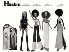 Harsbro's Leggy dolls from the good old 70ies...