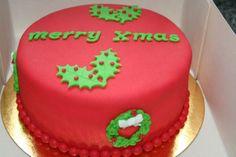 Ideetje voor een leuke kerst-taart