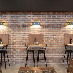 Bakery Shop Design, Coffee Shop Interior Design, Showroom Interior Design, Coffee Shop Design, Cafe Design, Outdoor Restaurant Design, Deco Restaurant, Restaurant Interior Design, Cafe Industrial