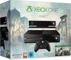 Xbox One com pack com o Assassin's Creed Unity