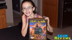 Need a family (and budget) friendly version of an escape room? ThinkFun's Escape the Room: Mystery at the Stargazer's Manor brings the hot trend home! - SahmReviews.com