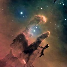 M16 Eagle Nebula by Daniel Duggan, Faulkes Telescope North