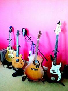 A Nice Group...Fender, Seagull, Godin, Epiphone