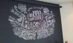 Chalkboard - Nantes - Restaurant Les Charbonniers