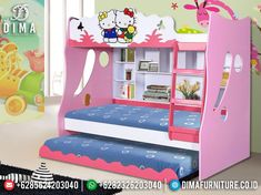 Pretty In Pink, Hello Kitty, Toddler Bed, Joy, Popular, Furniture, Home Decor, Child Bed, Decoration Home