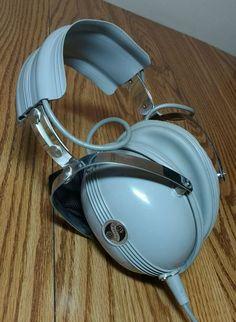 Vintage Retro SHARPE Headphones - Model HA-10A - Stereo Headphones