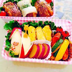 肉巻きおにぎり弁当 - 16件のもぐもぐ - 肉巻きおにぎり弁当 by rurikookadWDg