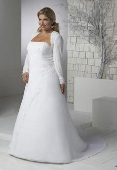 Plus Size Brides. Simply stunning!