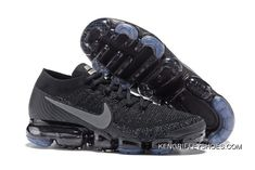 lowest price 7c1da 59aed Nike Air Vapormax 2017 Sneaker Running Men Black Grey Azulado New Year Deals