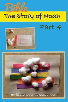my little sonbeam january week 4 bible noah part 4 bible craft and