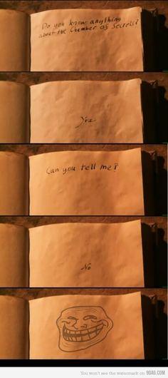 Tom Riddle Derp face. -Lyndsey