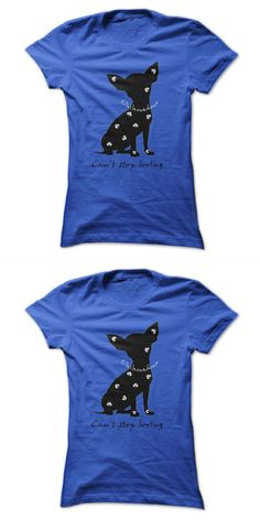 Spike 8217 S Junkyard Dogs T Shirt Cant Stop Loving My Chihuahua