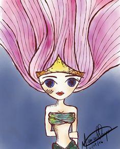 Finamelmente consegui desenhar uma sereia legal pro meu wallpaper 🙌🌅🎨 #draw #drawings #sketch #desenho #esboço #artist #artista #creativity #criatividade #instaart #instart #artgram #artoftheday #art #creative #arte #sketches #sketchesoninstagram #ipadpro #ipadart #applepencil #digitalart #ditigitalartist #mermaid #sereia #siren #sirena