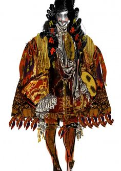 another costume by Christian Lacroix.