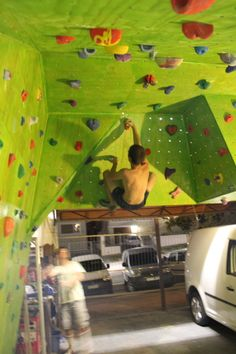 Home Climbing Walls (Garage)