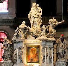 :Altarprincipal. Año: Ubicación:Santa Maria della Salute, Venecia, Italia. Autor: Baldassare Longhena