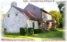 Hughes-Cunningham House  1771, West Virginia