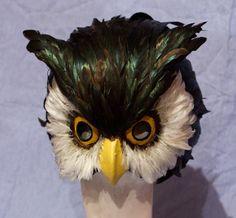 Owl Mask. $110.00, via Etsy.