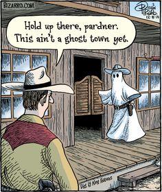 Bizarro by Dan Piraro - Bizarro Comic Strip Halloween Cartoons, Halloween Quotes, Halloween Humor, Halloween Goodies, Halloween Images, Funny Puns, Funny Relatable Memes, Funny Stuff