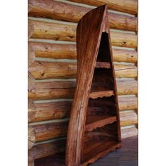 Rustic Home Furnishings, Sophisticated Cabin Décor High Camp Home Canoe Shelf, Wooden Canoe, Room Themes, Home Furnishings, Shelves, Rustic Cabins, Carved Wood, Wood Wall, Remodeling