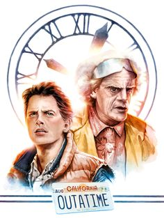 Crazy 4 Cult New York, An Art Show Inspired by Classic Cult Movies    Back To The Future by Jayson Weidel
