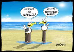 Hösti Möwe Emma & Konsorten 24 Cartoon Pics, Funny Facts, Haha, Literature, Funny Pictures, Hilarious, Jokes, Spas, Doodle