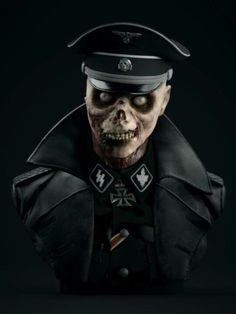 German Zombie Officer
